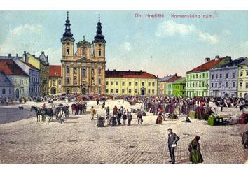 Trhy na dnešním Masarykově náměstí