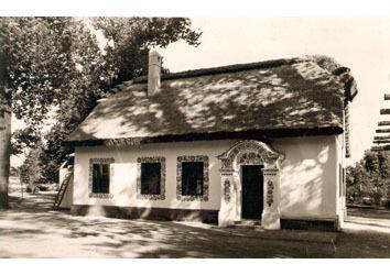 Slovácká búda v roce 1937