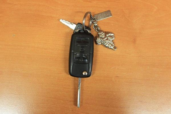 Klíč od automobilu