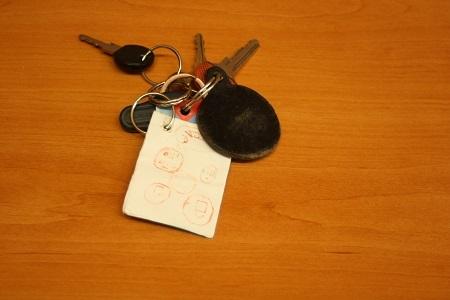 klíče s čipem