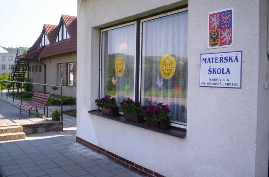 Mateřská škola, Markov 416, součást ZŠ Jarošov