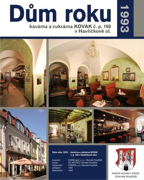 Dům roku 1993 - Podnikatelský dům s kavárnou Kovak - Havlíčkova ulice čp 160