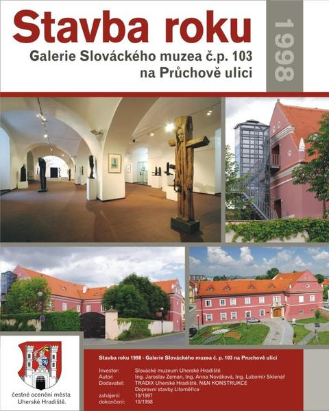 Stavba roku 1998 - Bývalá Císařská zbrojnice s Galerií SM, Otakatova ulice čp 103