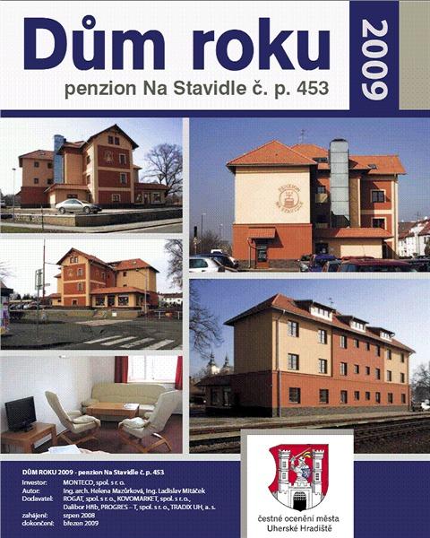 Dům roku 2009 - Penzion Na Stavidle, čp 453