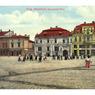 Masarykovo náměstí s lékárnou a hotelem