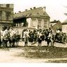 Jízda králů ve městě na počátku 20. století