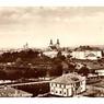 Pohled na město z období první republiky