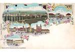 Město na pohlednici z roku 1899