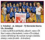 sportovní kolektivy - Volejbal starší žákyně