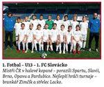 sportovní kolektivy - Fotbal U13